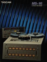 Tascam MS-16 Prospekt / Katalog