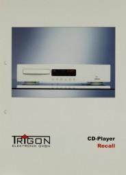 Trigon Recall Prospekt / Katalog