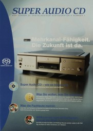Sony Super Audio CD Prospekt / Katalog