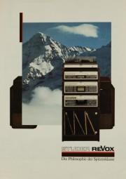 Revox (Studer Revox) Programm 86/87 Prospekt / Katalog